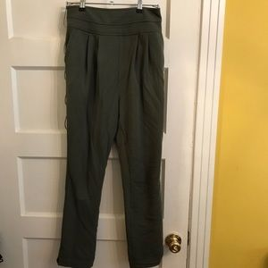 Anthropologie high waisted sweatpants